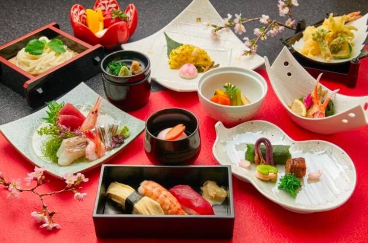 インスタ映え間違えなしの日本のコース料理