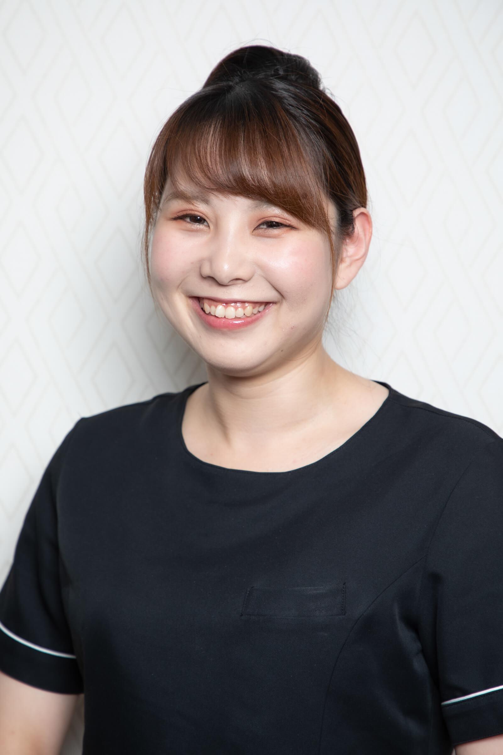横浜のエステサロンAYAのサブマネージャー 小田眞菜美