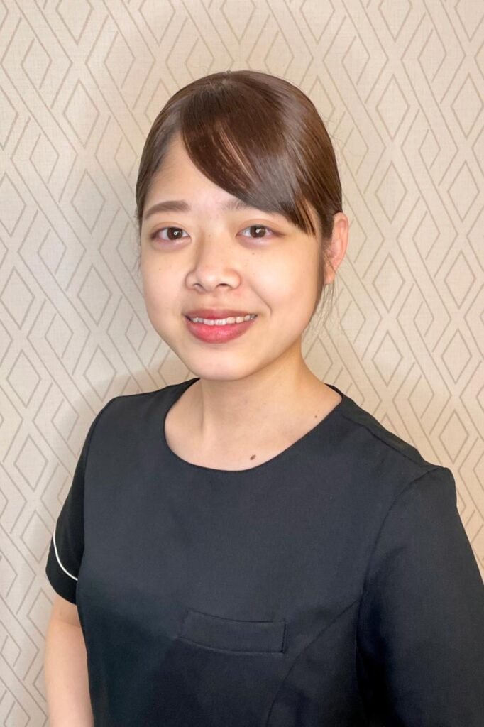 横浜のエステサロンAYAのスタッフ濱田 沙羅